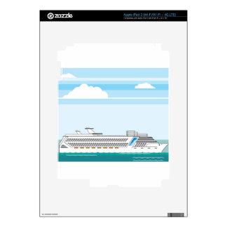 Cruise ship skin for iPad 3