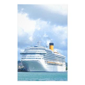 Cruise ship stationery