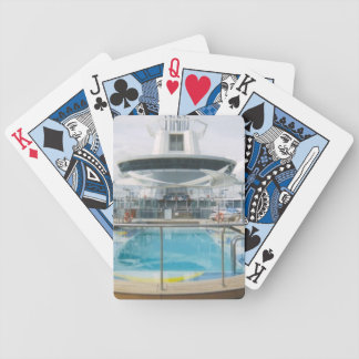 Cruise Ship Swimming Pool Bicycle Playing Cards