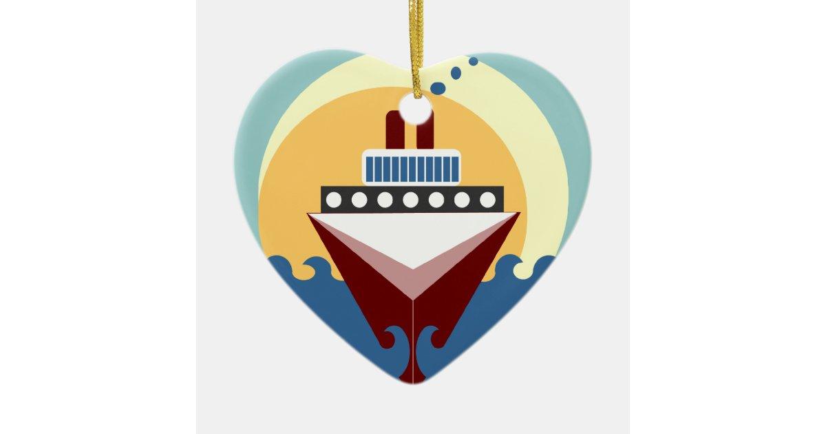 Cruise Ship Wedding Personalized Ornament Favor Zazzle Com