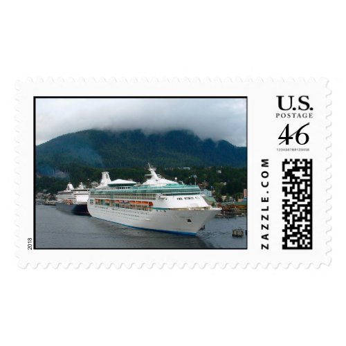 Cruise Ships stamp