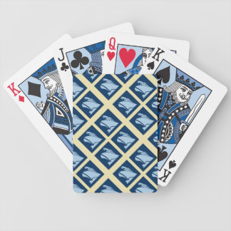 Cruise Ships Print Bicycle Playing Cards