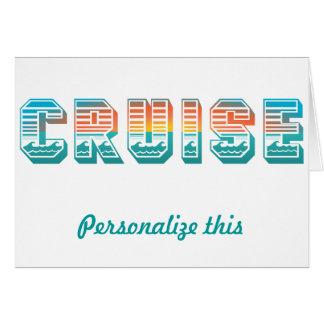Cruise (Sunset) Card