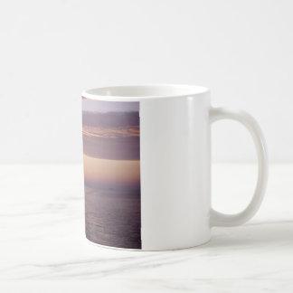 cruise sunset classic white coffee mug