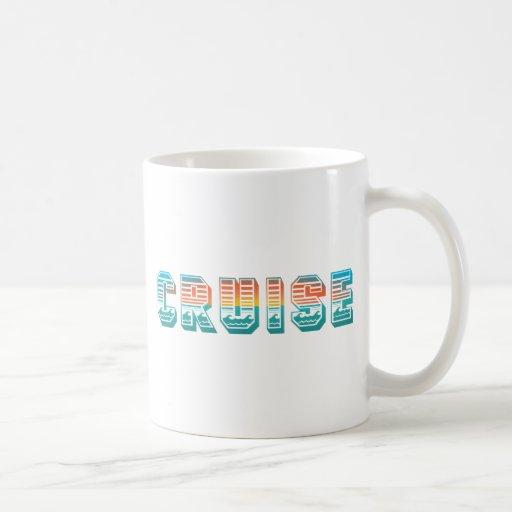 Cruise (Sunset) Classic White Coffee Mug