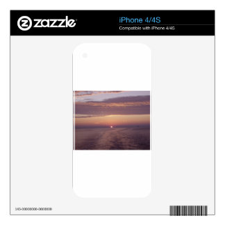 cruise sunset decal for the iPhone 4S