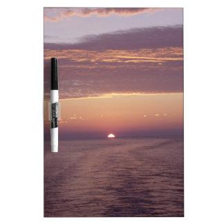 cruise sunset dry erase board