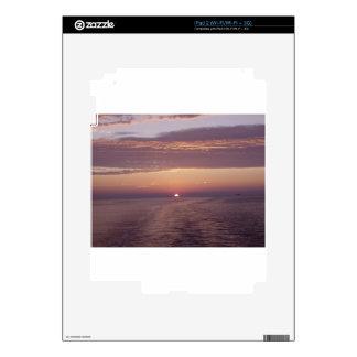 cruise sunset iPad 2 decal