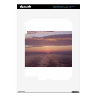 cruise sunset iPad 3 decal