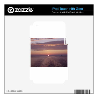cruise sunset iPod touch 4G skin