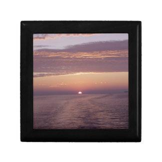 cruise sunset jewelry box