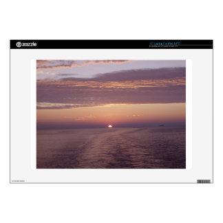 cruise sunset laptop skin