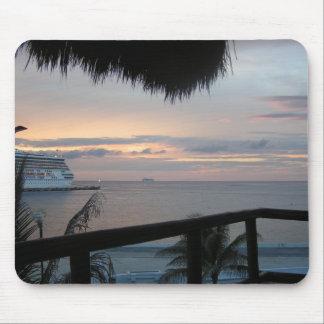 Cruise Sunset  Mousepad