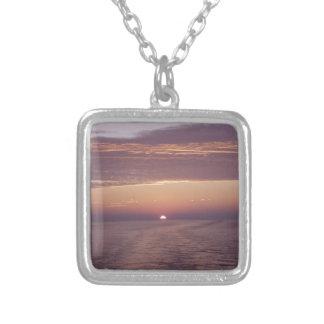cruise sunset personalized necklace