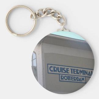 Cruise Terminal, Wilhelmina quay, Rotterdam Keychain
