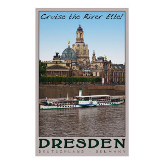 Cruise the River Elbe Posters