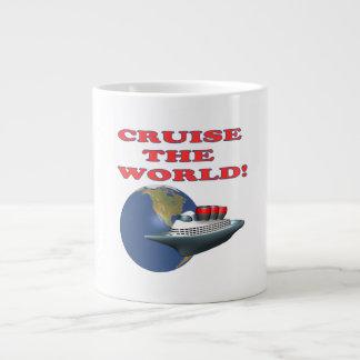 Cruise The World Giant Coffee Mug
