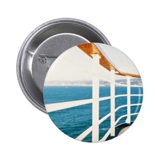 Cruise Themed, A Picture Of A Cruize Sailing On An 2 Inch Round Button