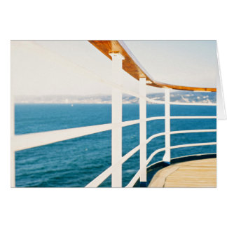Cruise Themed, A Picture Of A Cruize Sailing On An Card