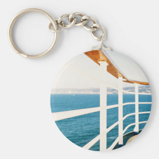 Cruise Themed, A Picture Of A Cruize Sailing On An Keychain