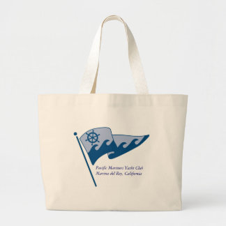 Cruise Tote Bag - waving burgee with MdR