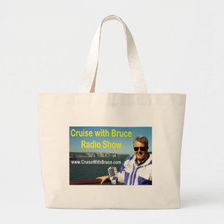 Cruise with Bruce Large Tote Bag