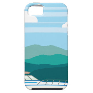 Cruiser Boat landscape shore iPhone SE/5/5s Case