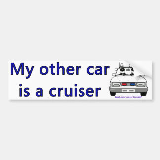 Cruiser Bumper Sticker