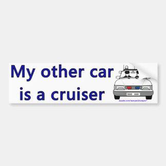 Cruiser Car Bumper Sticker