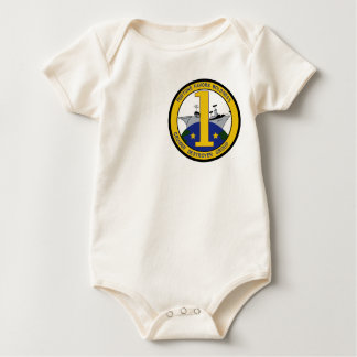 Cruiser Destroyer Group One Military Patch Baby Bodysuit