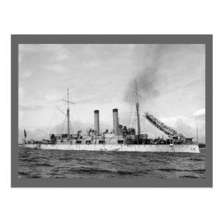 Cruiser U.S.S. Atlanta, 1903 Postcard