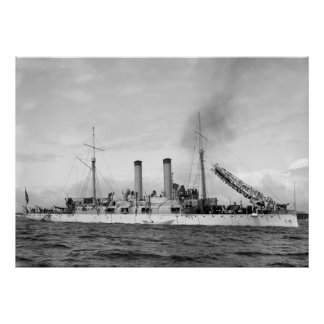 Cruiser U.S.S. Atlanta, 1903 Poster
