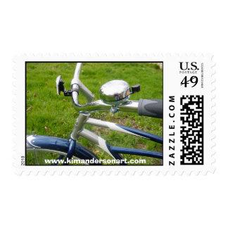 Cruiser  www.kimandersonart.com postage stamp