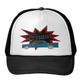 Cruisin Blue Baseball Cap Trucker Hat