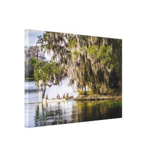 Cruisin' Blue Springs, Florida Canvas Print