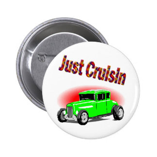 cruisin cars pinback buttons