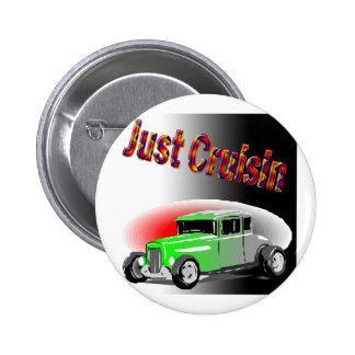 cruisin cars pinback button