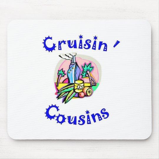 cruisin' cousins mousepad