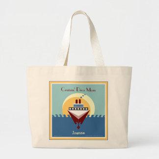 Cruisin' Diva Mom - Cruise Personalized Tote Bag