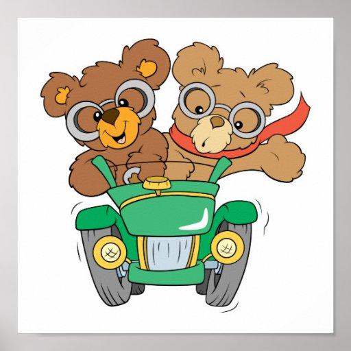 Cruisin en osos del coche impresiones