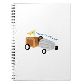 Cruisin For A Bruisin Notebook