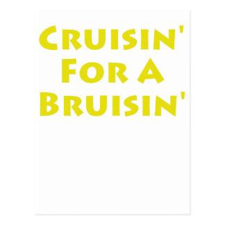 Cruisin' For A Bruisin' Postcard
