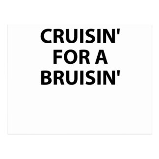 Cruisin' for a Bruisin' Post Cards