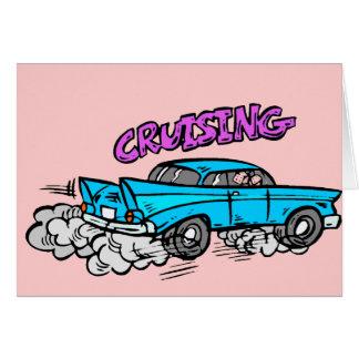 Cruisin Hot Rod Card