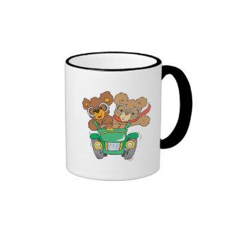 Cruisin in Car Bears Coffee Mug
