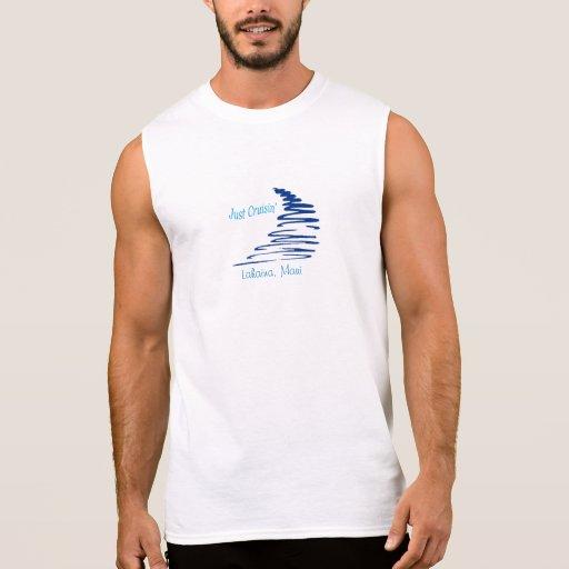 Cruisin'_ Squiggly Lahaina, Maui de Lines_Just Camisetas