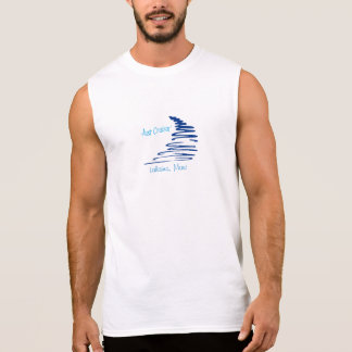 Cruisin'_ Squiggly Lahaina, Maui de Lines_Just Remera Sin Mangas