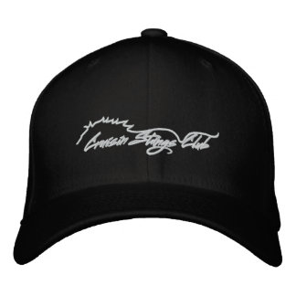 Cruisin Stangs Club Logo Hat Embroidered Baseball Cap