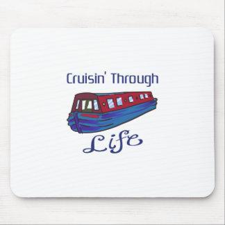 CRUISIN THROUGH LIFE MOUSE PAD
