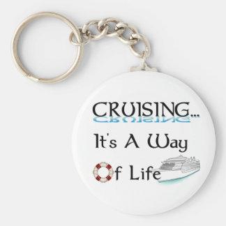 Cruising... A Way Of Life Key Chain
